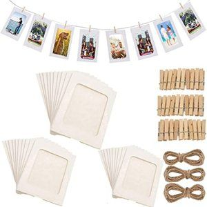 30PACK Paper Photo Frames 10x15 cm Paper Picture F